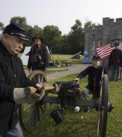 Visit a Civil War Fort